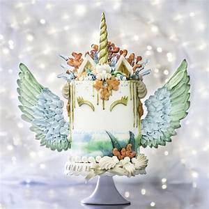 Mermaid Unicorn Cake - CakeCentral com