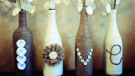 Decorative Wine Bottles Crafts by Wine Bottle Crafts For Diy Decor Vase Rent