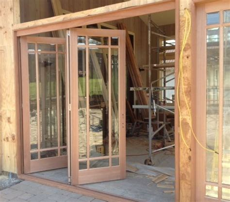folding patio doors exterior patio doors that stack to