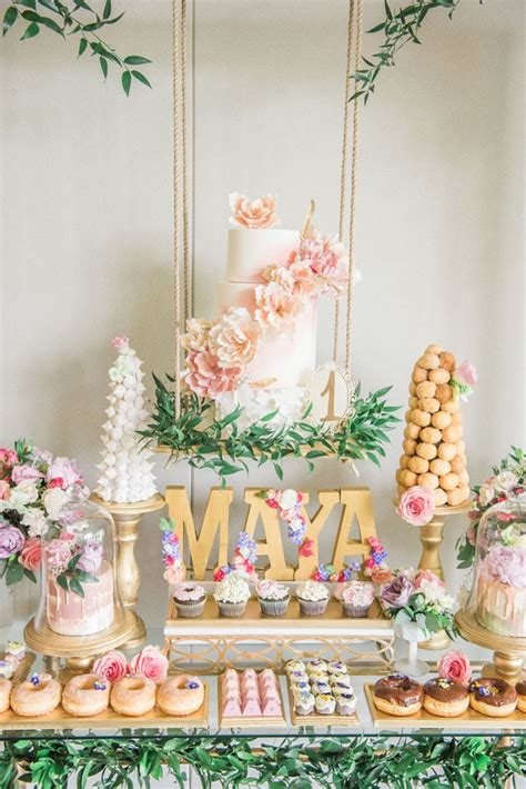 The latest tweets from the pudding (@puddingviz). Gorgeous Garden Themed 1st Birthday Party - Pretty My Party