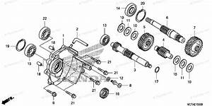 Honda Scooter 2008 Oem Parts Diagram For Transmission