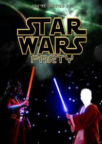 Star Wars Party Invitation Template
