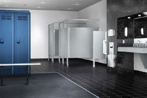 school lockers commercial bathroom stalls partitions