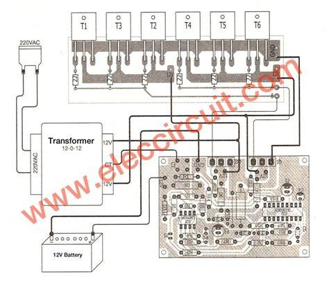 500w power inverter circuit using sg3526 irfp540 1 circuit diagram electronics