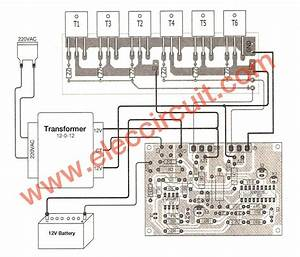 500w Power Inverter Circuit Using Sg3526