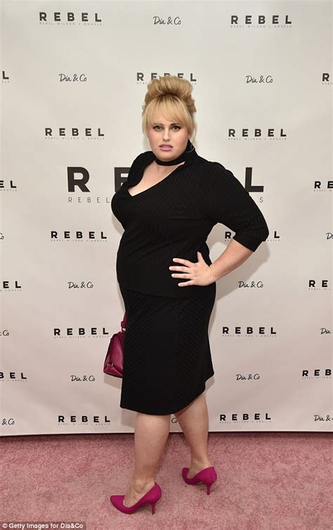 Rebel Wilson stuns at her plus-sized label launch | Daily ...