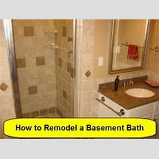 How To Remodel A Basement Bath  Part 1 Of 3 (howtoloucom