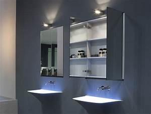 Armoire De Salle De Bain Avec Miroir : armoire salle de bain miroir design ~ Dailycaller-alerts.com Idées de Décoration