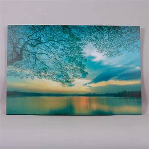 Lake teal wall art harry corry limited for Teal wall art