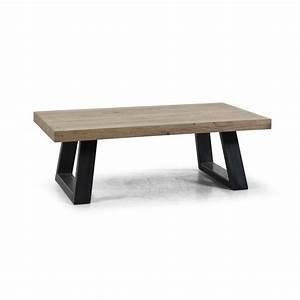 Pied Table Scandinave : table basse trois pieds maison design ~ Teatrodelosmanantiales.com Idées de Décoration