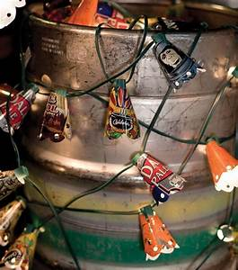 Beer Can String Lights  U00b7 Extract From Beer Crafts By Shawn Gascoyne