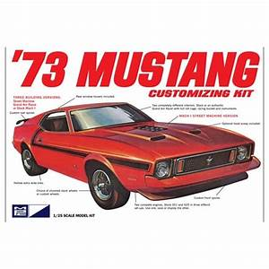 MPC 1973 Ford Mustang - 1:25 Scale Car Kit - MPC from Jumblies Models UK