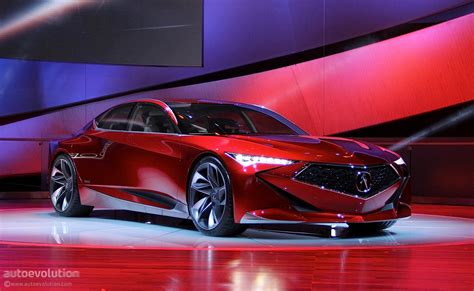 Acura 2020 Future : Acura Precision Concept Spices Up The 2016 Detroit Auto