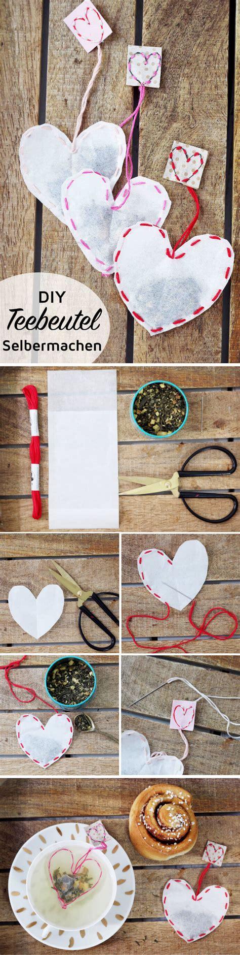 kreative weihnachtsgeschenke selber machen teebeutel selber machen kreative diy geschenkidee