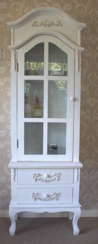 french style display cabinet  drawers bathroom