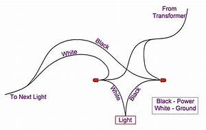 Landscape lighting wiring diagram : Outdoor lighting diy deck plans