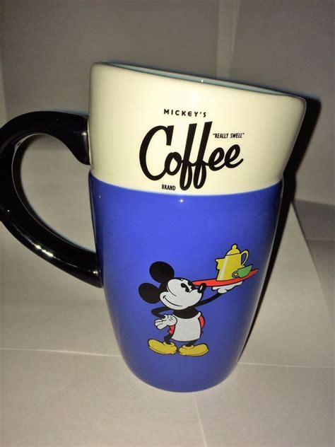 A wide variety of personalized disney coffee mugs options are available to you, such as drinkware type, material, and feature. Disney Parks Mickey's Really Swell Theme Perks Coffee Mug Tea Ceramic Cup 14 Oz (With images ...