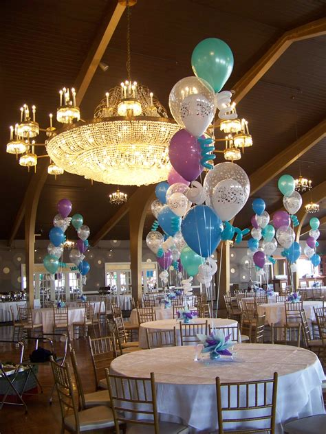 Balloon Centerpieces Using 5 16 Latex Balloons With