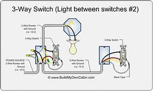 2 Lights One Switch Diagram