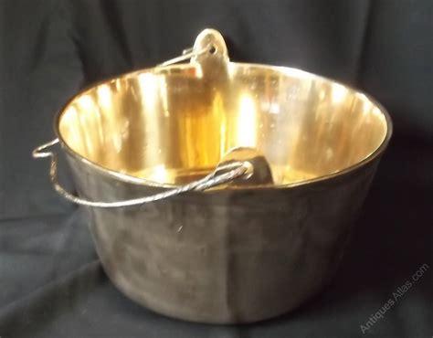 antiques atlas antique brass jam pan
