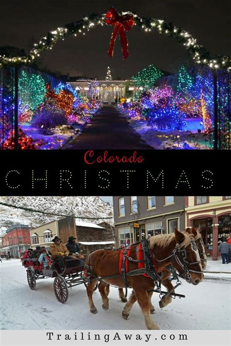 Top 5 Colorado Christmas Activities  Trailing Away