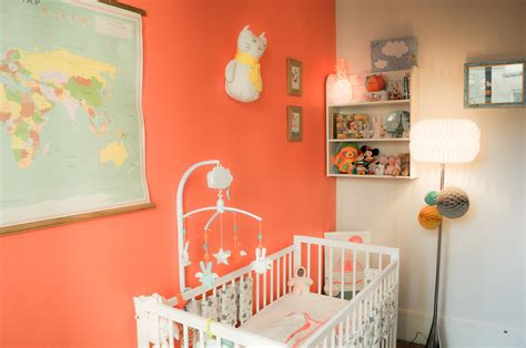 chambre bebe fille originale stunning chambre bebe orange et photos yourmentor