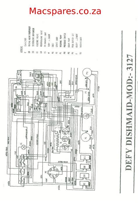 Indesit Refrigerator Wiring Diagram by Defy Washing Machine Wiring Diagram Auto Electrical