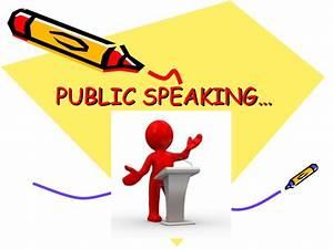 Public speaking  Speaking