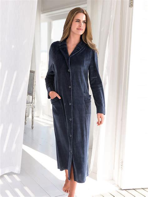 robe de chambre velours femme robe de chambre polaire femme francoise saget peignoir et