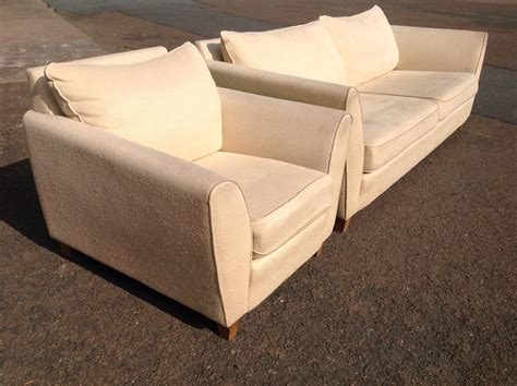 A Large Collins Hayes Genoa Three Seater Sofa And