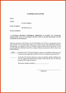 authorization letter formats  Carbon materialwitness co