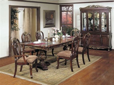 acme furniture bordeaux dining set m7639 traditional