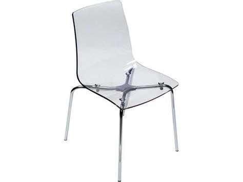 Conforama Chaise Transparente