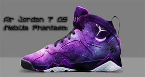 air jordan 7 purple custom