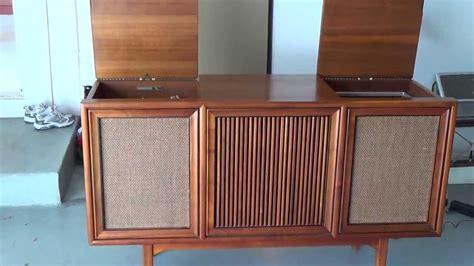 mid century stereo 1964 motorola stereo console youtube