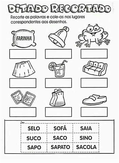 ditado recortado as letras do alfabeto teachers corner e grammar