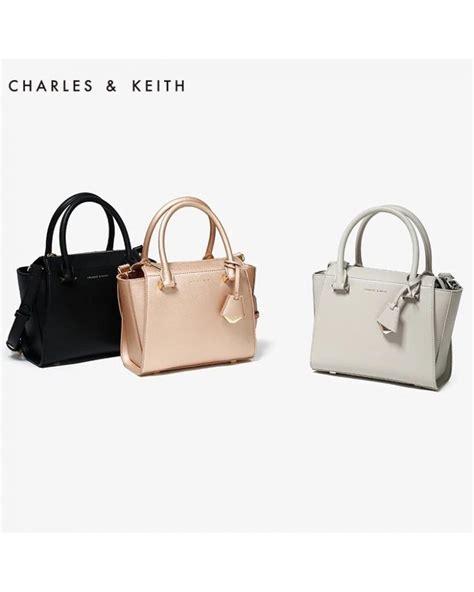 Sling Bag Charles Keith charles keith ck signature city bag tote sling handbag
