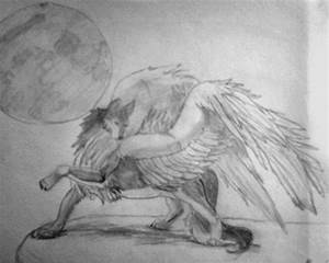 Wolf with wings by Booklover715 on DeviantArt