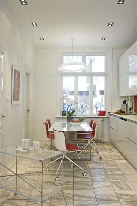 Stylish Italian Kitchen Designs by Stylish Italian And White Kitchen Design In Oslo