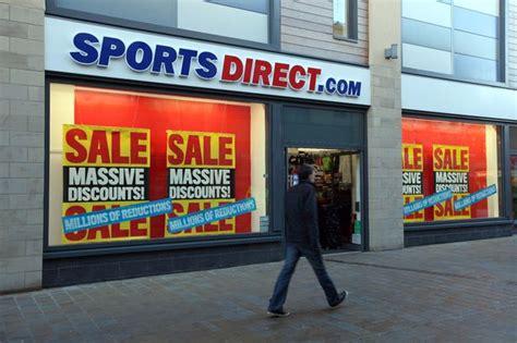 sports direct grow sales  profits  englands