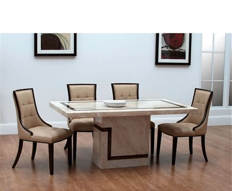 horsham marble dining table and chairs