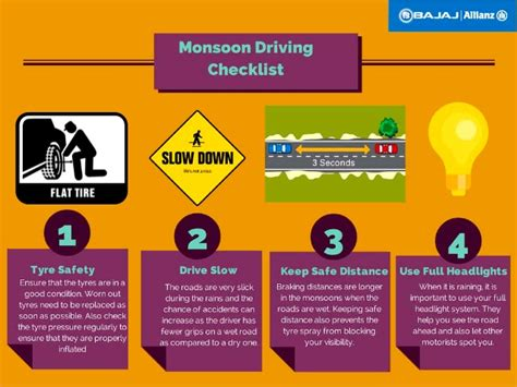 monsoon driving tips