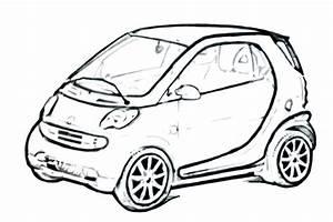 Smart Car Drawing At Getdrawings