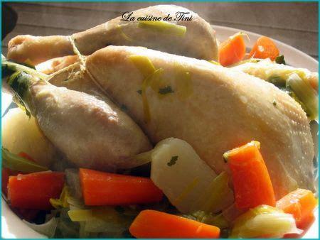 recette poule au pot a la creme poule au pot simplissime la cuisine facile de tini