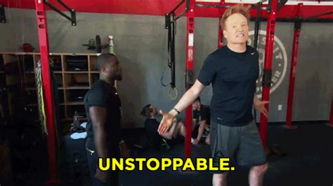 unstoppable kevin hart gif  team coco find share