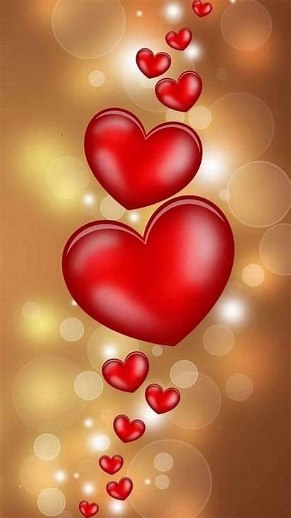 Heart Cuori Sfondi Sfondo Iphone Valentinstag Herz