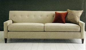 Seating 101 choosing between sofa styles for Mid century style sectional sofa