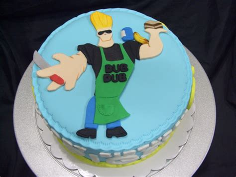 johnny bravo cakecentralcom