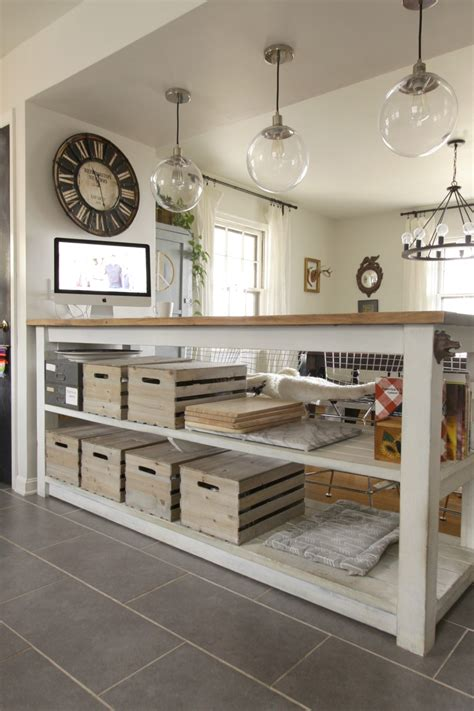 industrial kitchen island industrial kitchen island with storage from crates 1842