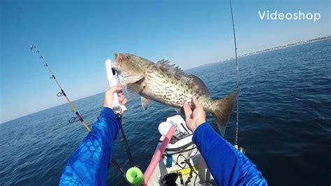 fishing florida grouper kayak